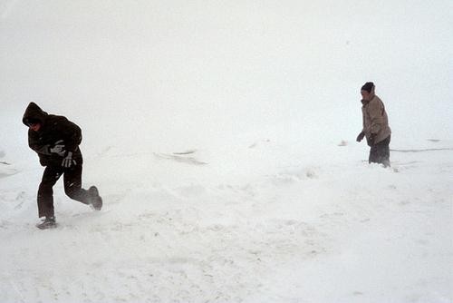Снежен бой