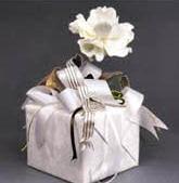 Опаковка с украса-цвете