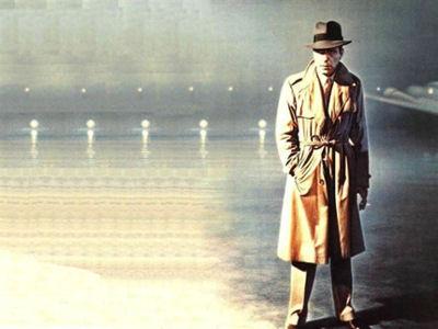 """Хъмфри Богарт във финалната сцена от """"Казабланка"""""""